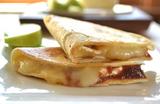 Brie Cheese & Fruit Butter Quesadillas   Dessert Quesadillas