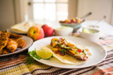 Feisty Chili Lime Chicken Tacos