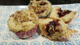 Jam Filled Walnut Muffin Recipe