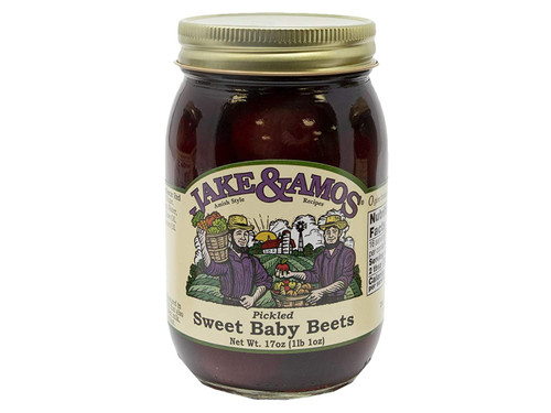 Jake & Amos Pickled Sweet Baby Beets, 16 Ounce - 3 Pack