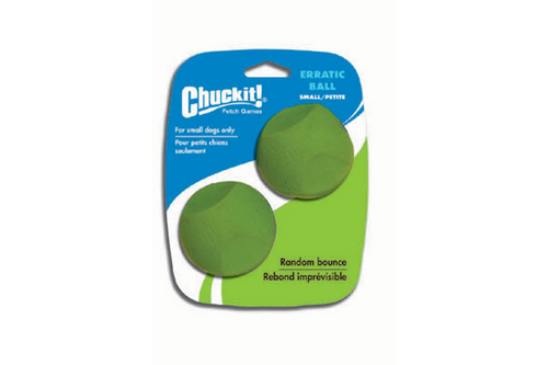 Chuckit! Erratic Ball Small 2pk