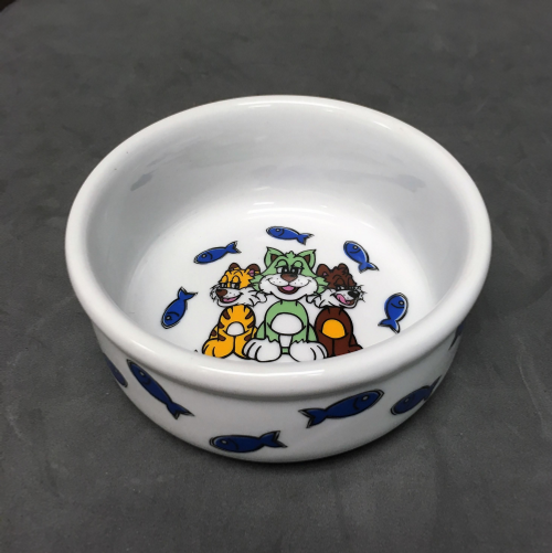Cat Friends Ceramic Bowl
