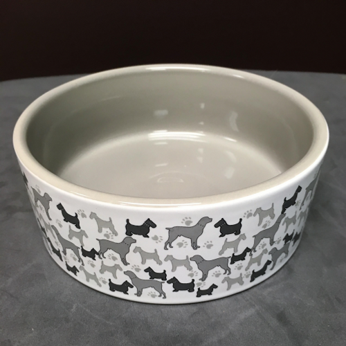 Dogs Ceramic Bowl