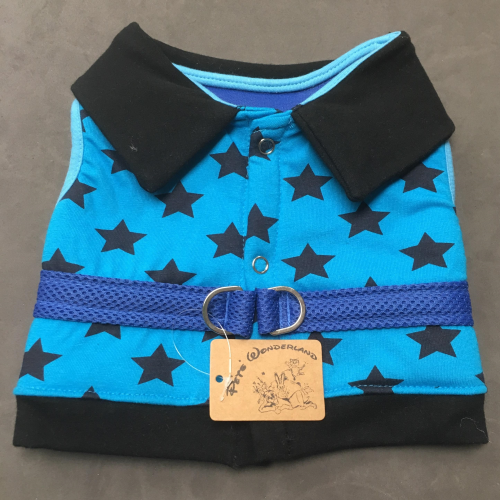Puppy Zzang Soft Padded Star Harness