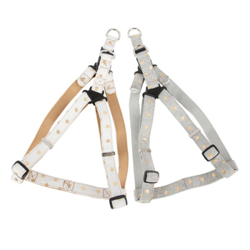 Puppia Deluxe Modern Dotty Step-In Harness