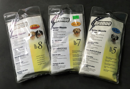 Avenue Nylon Muzzle for Dogs