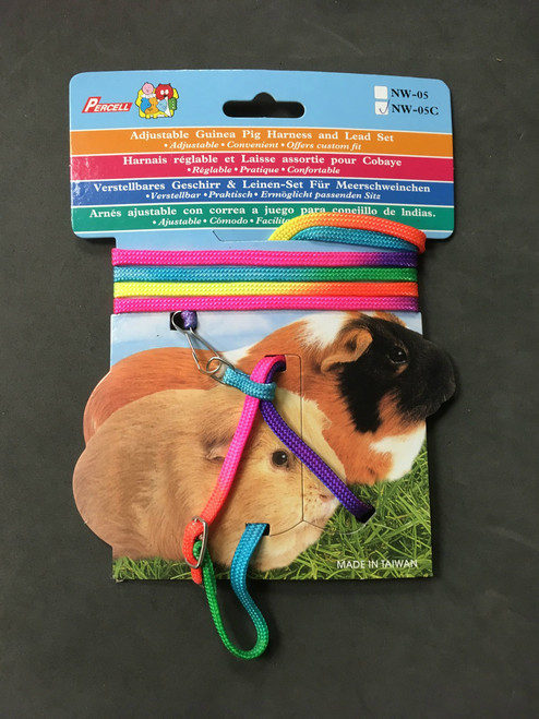 Adjustable Guinea Pig Harness and Lead Set