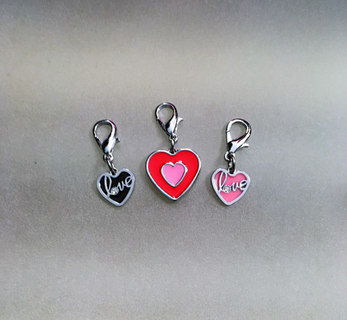 Posh Heart Charms