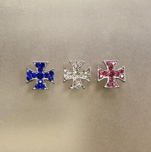 Cross Slider Charms for 10mm Collars