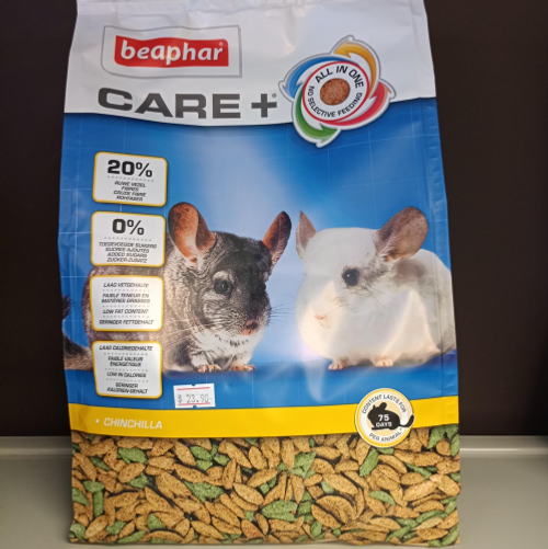 Beaphar CARE+ Extruded Chinchilla Food 1.5kg