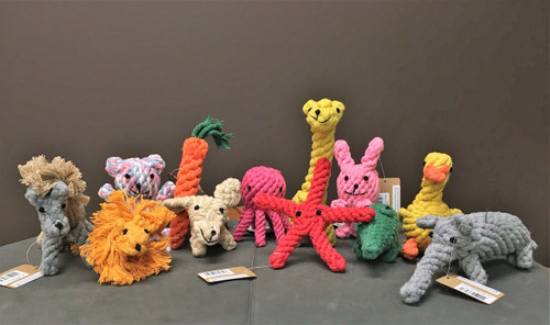 Hand Knitted Cotton Rope Toys