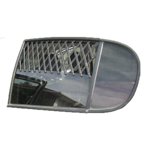 Expandable Car Window Vent Guard Large