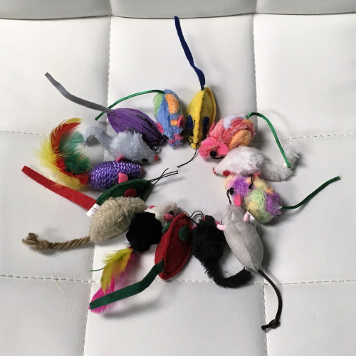 Assorted Mice Cat Toys