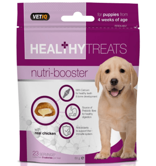 Nutri-Booster Healthy Treats for Puppies 50g