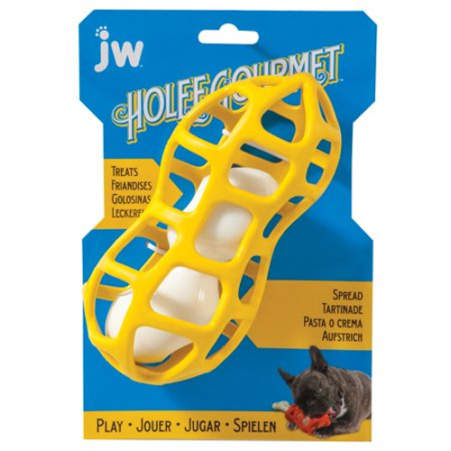 JW Holee Gourmet 2 in 1 Treat Toy
