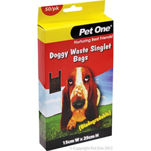 Doggy Waste Singlet Bags Biodegradable