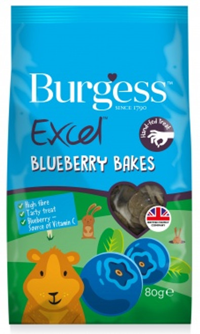 Excel Blueberry Bakes 80g