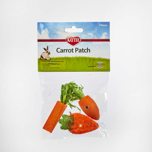 Kaytee Chew Toy Carrot Patch