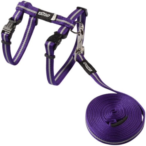 Rogz AlleyCat Harness & Lead Set
