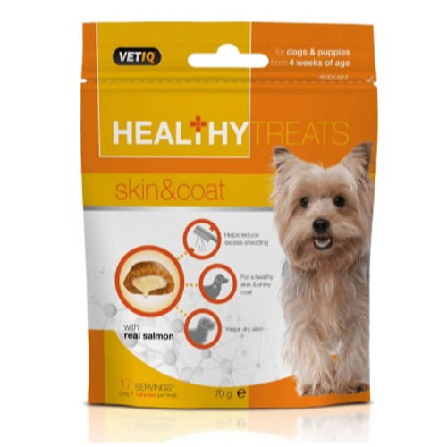 Healthy Treats Skin & Coat For Dogs & Puppies 70g