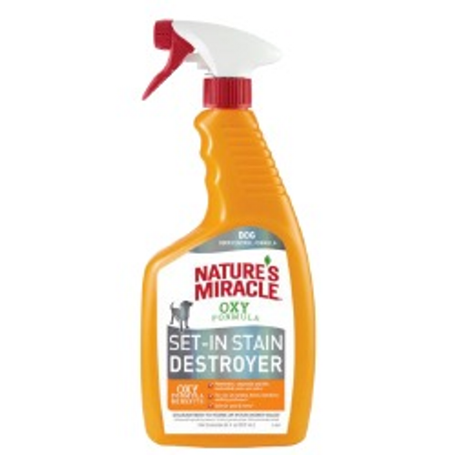 Nature's Miracle Oxy Set-in Stain Destroyer Just For Cats 709mL