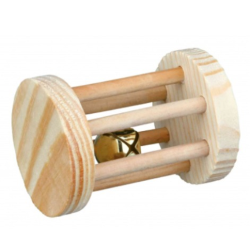 Wooden Playing Roll For Small Animals