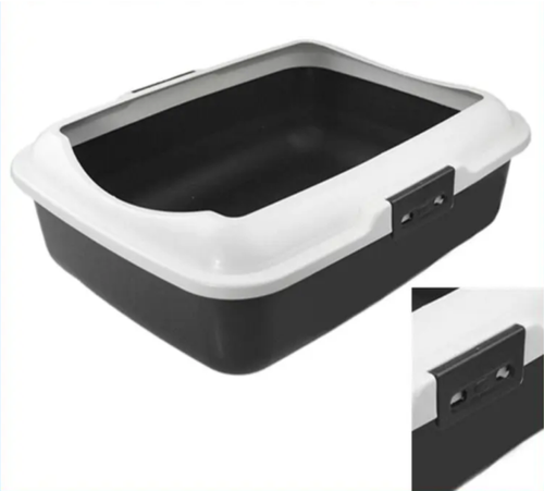 Litter Tray with Rim