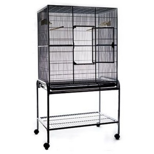 Flight Cage Black with Stand