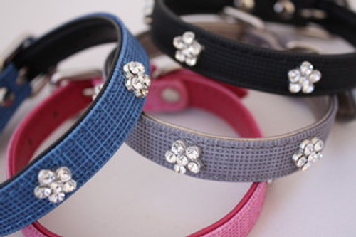 Charm Flower Collars - LAST 1 with FREE LEASH