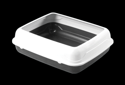 Kitty Litter Tray with Rim S, L, XL