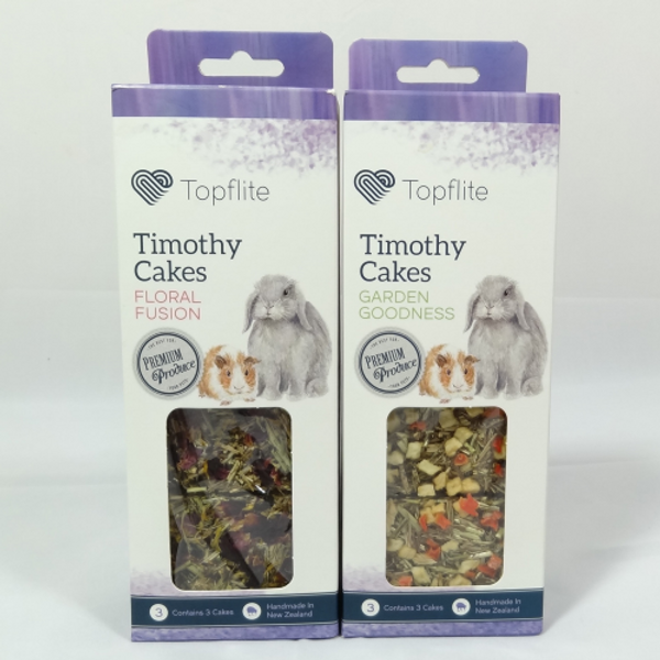 Topflite Timothy Cakes for Small Animals