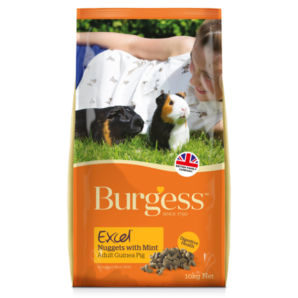 Burgess Excel Adult Guinea Pig Nuggets with Mint