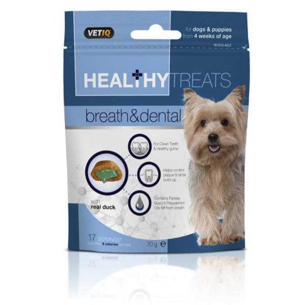 Healthy Treats Breath & Dental For Dogs & Puppies 70g