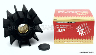 JMP FLEXIBLE IMPELLER #8100-01 (Actual Impeller Image)