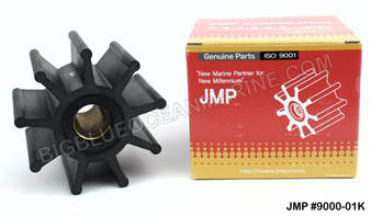 JMP FLEXIBLE IMPELLER #9000-01 (Actual Impeller Image)
