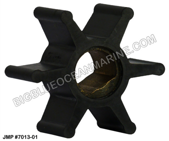 JMP FLEXIBLE IMPELLER #7013-01 (Actual Impeller Image)