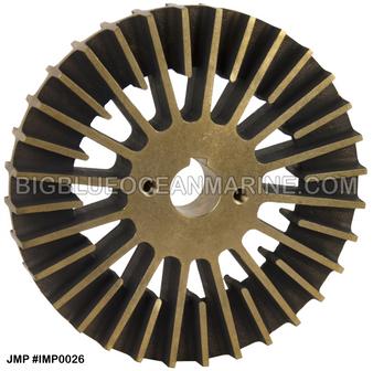 JMP BRONZE IMPELLER #IMP0026 (For CAT PUMP 7C3613 / JMP PUMP JPR-CT3412) Replaces CAT Impeller #3N8449