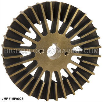 JMP BRONZE IMPELLER #IMP0026 (For CAT PUMP 7C3613 / JMP PUMP JPR-CT3412) Replaces CAT Impeller #3N8449