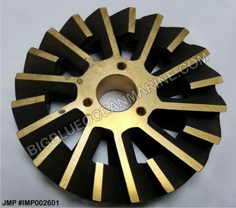 JMP BRONZE IMPELLER #IMP002601 (Replacement for Cummins 3049158 / 3074540, JMP #JPR-C1900)
