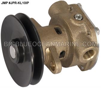 JMP Marine #JPR-SE7110P (#JPR-KL10IP) KOHLER REPLACEMENT ENGINE COOLING PUMP (Forged Pulley)