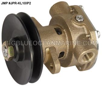 JMP Marine #JPR-SE7107P (#JPR-KL10IP2) KOHLER REPLACEMENT ENGINE COOLING PUMP (Bolt-On Pulley)
