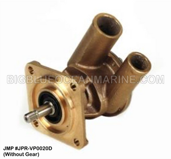 JMP #JPR-VP0020D JMP VOLVO PENTA REPLACEMENT RAW WATER ENGINE COOLING PUMP (PUMP W/O GEAR)