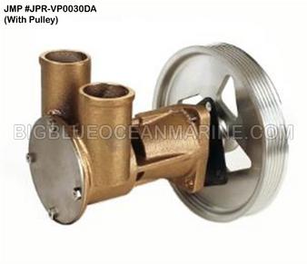 JMP #JPR-VP0030DA JMP VOLVO PENTA REPLACEMENT RAW WATER ENGINE COOLING PUMP (PUMP WITH PULLEY)