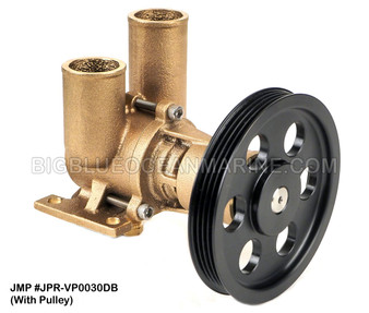 JMP #JPR-VP0030DB JMP VOLVO PENTA REPLACEMENT RAW WATER ENGINE COOLING PUMP (PUMP WITH PULLEY)