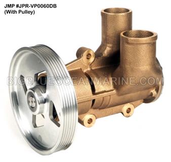 JMP #JPR-VP0060DB JMP VOLVO PENTA REPLACEMENT RAW WATER ENGINE COOLING PUMP (PUMP WITH PULLEY)