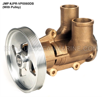 JMP #JPR-VP0060DB JMP VOLVO PENTA REPLACEMENT RAW WATER ENGINE COOLING PUMP (PUMP WITH PULLEY)