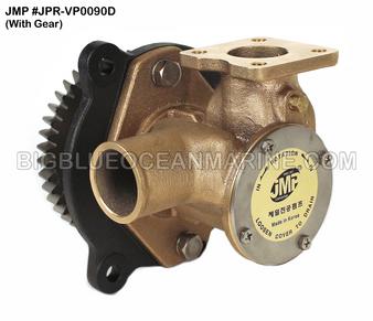 JMP #JPR-VP0090D JMP BRAND VOLVO PENTA REPLACEMENT RAW WATER ENGINE COOLING PUMP (PUMP WITH GEAR)