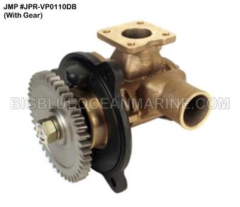 JMP #JPR-VP0110DB JMP VOLVO PENTA REPLACEMENT RAW WATER ENGINE COOLING PUMP (PUMP WITH GEAR)