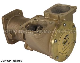 JMP #JPR-CT3406 JMP CATERPILLAR REPLACEMENT RAW WATER ENGINE COOLING PUMP