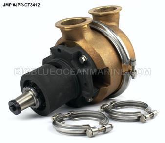 #JPR-CT3412 JMP Marine Caterpillar Replacement Engine Cooling Seawater Pump Caterpillar 7C3613, Gilkes 44951-032, 44951-028, 44951-012